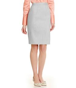 Antonio Melani - Olivia Crosshatch Pencil Skirt