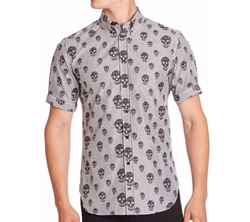 Alexander McQueen  - Regular-Fit Short Sleeve Shirt