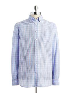 BUGATTI  - Plaid Button-Down Shirt