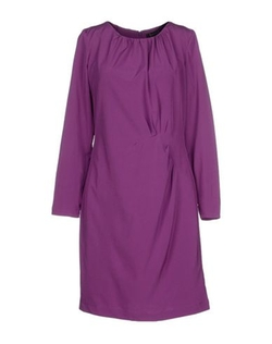 St Martins - Round Collar Short Dress