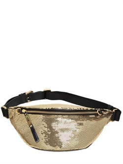 Moschino - Sequined Satin Belt Pack