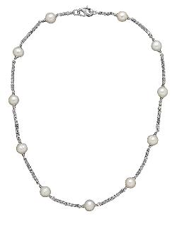Honora Style  - Sterling Silver Freshwater Pearl Necklace