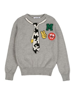 Moschino Kid - Printed Knit Sweater