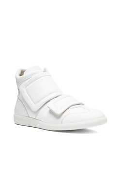 Maison Margiela  - Clinic Leather High Top Sneakers