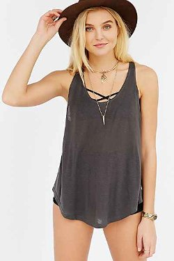 Project Social T  - Deep Scoop Tank Top