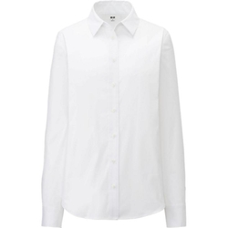 Uniqlo - Supima Cotton Stretch Long Sleeve Shirt
