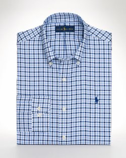 Ralph Lauren - Non-Iron Checked Sport Shirt
