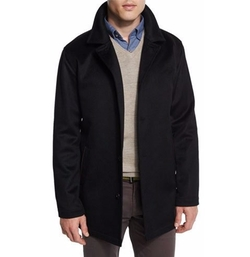 Peter Millar - Madison Wool/Cashmere-Blend Trend-Fit Coat