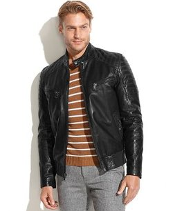 Emanuel Ungaro - Quilted Leather Moto Jacket