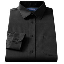 Croft & Barrow - Broadcloth Spread-Collar Dress Shirt