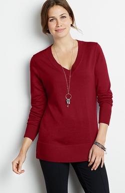 J. Jill - Sloan V-Neck Pullover Sweater