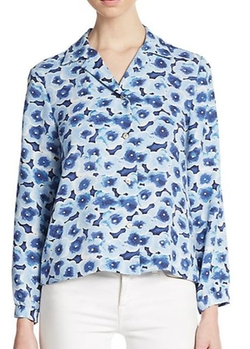 Marc by Marc Jacobs  - Floral-Print Boxy Blouse
