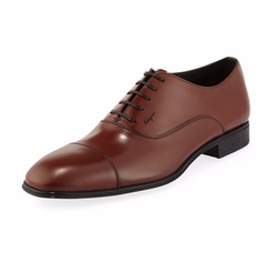 Salvatore Ferragamo - Remigio Cap-Toe Oxford Shoes