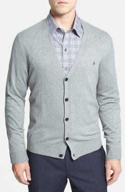 Victorinox Swiss Army - Slim Fit Stretch Cotton Cardigan