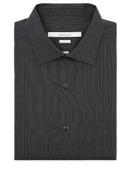 Perry Ellis - Classic Fit Thin Pinstripe Dress Shirt