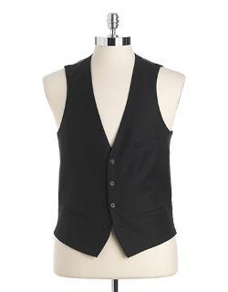 TALLIA ORANGE - Slim-Fit Wool Vest