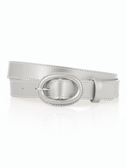Talbots - Metallic Leather Belt