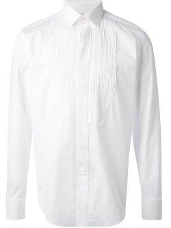 Lanvin - Pleated Bib Dress Shirt