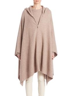 The Row  - Asham Knit Hooded Poncho