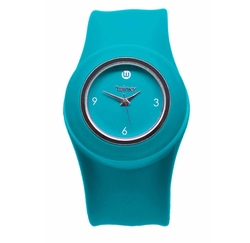 Winky Designs - Turquoise Slap Watch