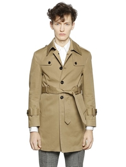 Thom Browne - Cotton Mac Trench Coat