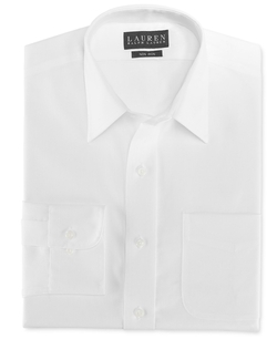 Lauren Ralph Lauren - Slim-Fit Twill Dress Shirt