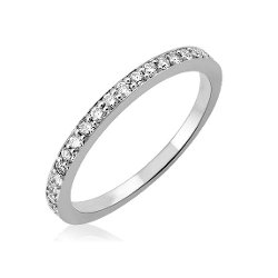 Diamond Delight - Wedding Diamond Band Ring