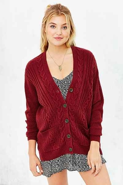 BDG - Cayla Elbow Patch Cardigan