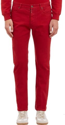 Maison Margiela - Stretch Cotton Twill Jeans