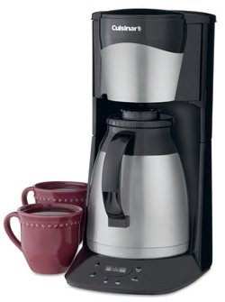 Cuisinart - 12-Cup Stainless Steel Programmable Thermal Coffee Maker