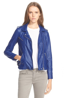 Rebecca Taylor - Washed Leather Moto Jacket