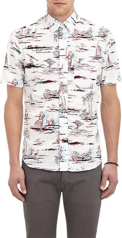 Gitman Vintage - 3d Hawaiian-Print Shirt