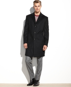 Kenneth Cole Reaction - Raburn Wool-Blend Over Coat