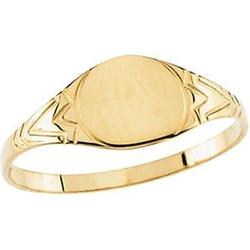 Us Gems - Round Signet Ring