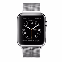 Apple - Stainless Steel Case With Milanese Watch