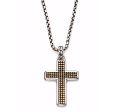 John Hardy  - Classic Chain Collection Cross Necklace