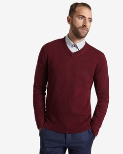 Global - Deluxe Cashmere V-Neck Jumper