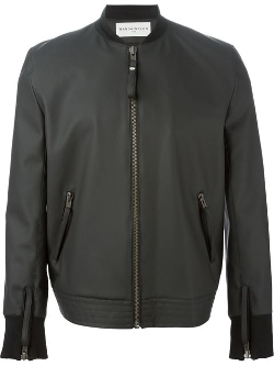 Wanda Nylon - Zipped Bomber Jacket