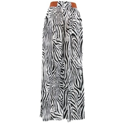 Unknown - Zebra Printed Palazzo Pants