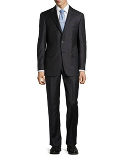 Hickey Freeman  - Classic-Fit Two-Piece Woven Wool Suit