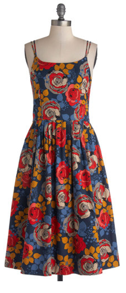 Bea & Dot - High Socie-tea Dress in Floral