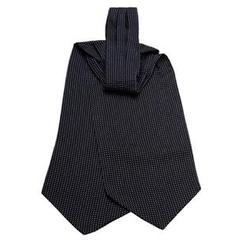 Dapper World - Silk Printed Ascot Tie