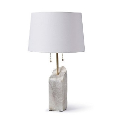 Frontgate - Raw Alabaster Table Lamp
