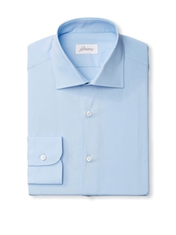 Brioni  - Solid Dress Shirt