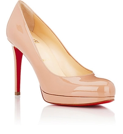 Christian Louboutin - Patent New Simple Platform Pumps