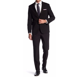 14th & Union - Woven 2 Button Notch Lapel Trim Fit Suit
