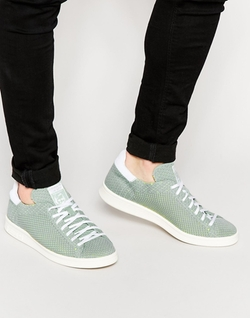 Adidas - Stan Smith Prime Knit Sneakers