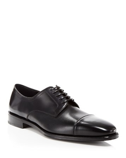 Salvatore Ferragamo - Mabel Cap Toe Oxford Shoes
