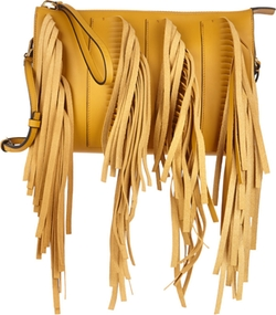 Marni - Fringed Biker Clutch Bag