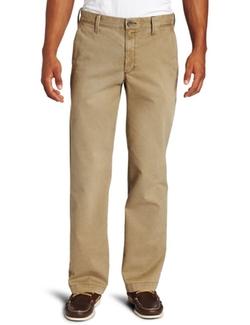 Haggar  - Life Khaki Sand-Washed Straight-Fit Chino Pants